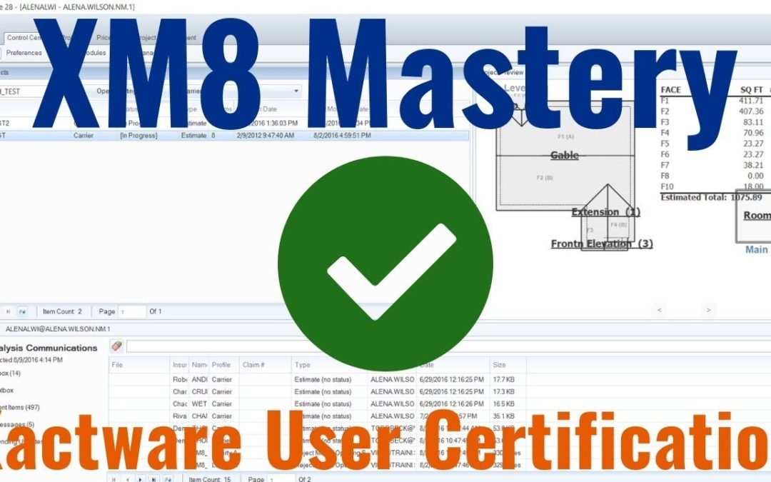 Learn About Xactware User Certification